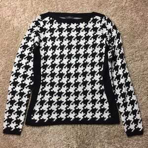 The Limited Geometric Print Sweater S